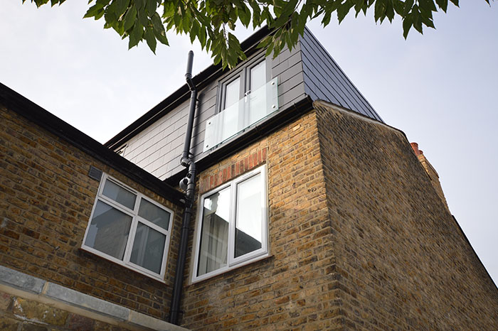 Loft conversion and side extension photo No. 117