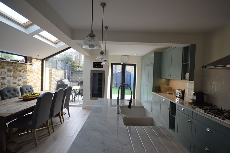 Loft conversion and side extension photo No. 191